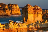 landscapes stock photography | Sunset at Razorback, The Twelve Apostles, Great Ocean Road, Port Campbell National Park, Victoria, Australia, Image ID APOST-0005.