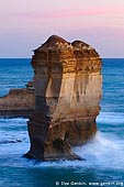landscapes stock photography | Apostles near Razorback after Sunset, The Twelve Apostles, Great Ocean Road, Port Campbell National Park, Victoria, Australia, Image ID APOST-0010.