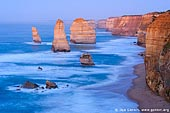 landscapes stock photography | The Twelve Apostles at Dawn, The Twelve Apostles, Great Ocean Road, Port Campbell National Park, Victoria, Australia, Image ID APOST-0012.