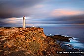 landscapes stock photography | Cape Nelson Lighthouse, Cape Nelson, Victoria (VIC), Australia, Image ID AU-CAPE-NELSON-LIGHTHOUSE-0001. A fascinating piece of Victoria's maritime history, the Cape Nelson Lighthouse is located on the Great South West Walk in the Cape Nelson State Park, near Portland on Victoria's southwest coast in Australia and offers spectacular coastal cliffs, diverse bird life and picturesque walks. The lighthouse was completed in 1884 and today offers accommodation in the Light Station Keepers Cottages.