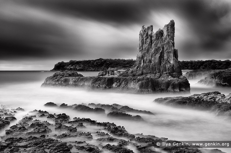 landscapes stock photography | Cathedral Rocks, Kiama, New South Wales (NSW), Australia, Image ID AU-KIAMA-CATHEDRAL-ROCKS-0001