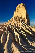 landscapes stock photography | The Walls of China (Lunette) at Sunrise, Mungo National Park, NSW, Australia, Image ID AU-MUNGO-0002.