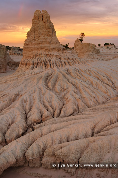 landscapes stock photography | The Walls of China after Storm, Mungo National Park, NSW, Australia