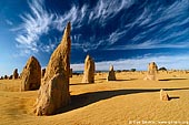 The Pinnacles Desert, Nambung National Park, WA, Australia Stock Photography and Travel Images
