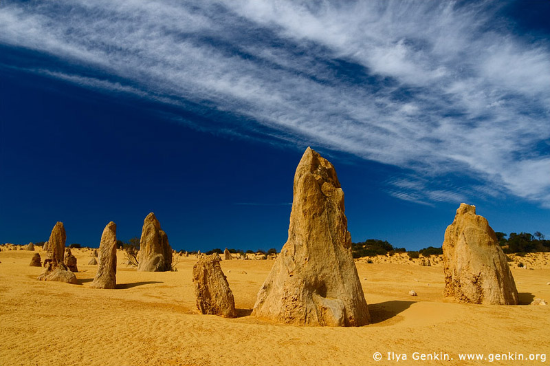 landscapes stock photography | The Pinnacles at Nambung National Park, Western Australia (WA), Australia