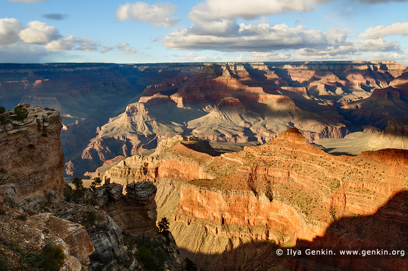 landscapes stock photography | Late Afternoon at Mather Point, South Rim, Grand Canyon, Arizona, USA, Image ID GRAND-CANYON-ARIZONA-US-0004