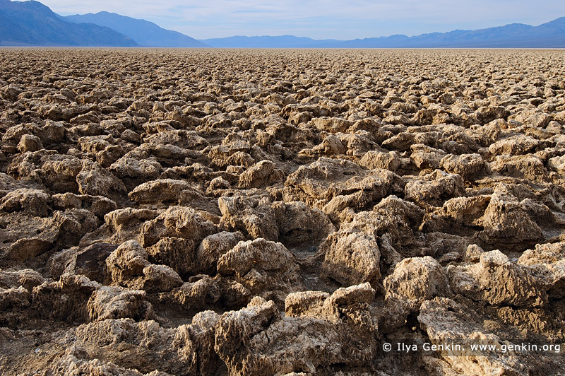 landscapes stock photography | Devil's Golf Course, Death Valley, California, USA, Image ID US-DEATH-VALLEY-0004