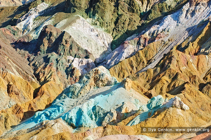 landscapes stock photography | Artist's Palette, Death Valley, California, USA, Image ID US-DEATH-VALLEY-0005