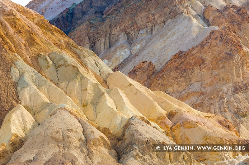 landscapes stock photography | Colorful Artist's Palette, Death Valley, California, USA, Image ID US-DEATH-VALLEY-0010