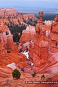 landscapes stock photography | Thor's Hammer at Dawn, Sunset Point, Bryce Canyon National Park, Utah, USA, Image ID US-BRYCE-CANYON-0002. Thor's Hammer is a large and tall standalone hoodoo along the Navajo Loop Trail in the Bryce Canyon National Park, Utah, USA.