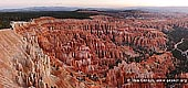 landscapes stock photography | Panorama of Bryce Amphitheater at Sunrise, Inspiration Point, Bryce Canyon National Park, Utah, USA, Image ID US-BRYCE-CANYON-0007. Panoramic photo of Bryce Amphitheater at sunrise as it was seen from the Inspiration Point in the Bryce Canyon National Park, Utah, USA.