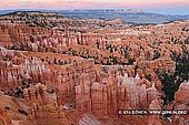 landscapes stock photography | Bryce Canyone at Sunrise, Inspiration Point, Bryce Canyon National Park, Utah, USA, Image ID US-BRYCE-CANYON-0012. Stock image of of the Bryce canyon at sunrise as it was seen from the Inspiration Point in the Bryce Canyon National Park, Utah, USA.