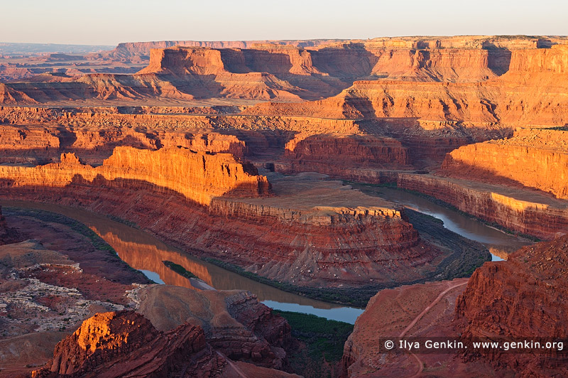 landscapes stock photography | Dead Horse Point at Sunrise, Dead Horse Point State Park, Utah, USA