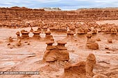 landscapes stock photography | Field of Hoodoos at Goblin Valley, Goblin Valley State Park, Utah, USA, Image ID GOBLIN-VALLEY-STATE-PARK-UTAH-USA-0005. A vast field of mushroom-shaped eroded sandstone hoodoos at Goblin Valley State Park, Utah, USA.
