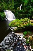 The Catlins Waterfalls, New Zealand,