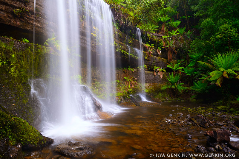 landscapes stock photography | Russell Falls, Mount Field National Park, Tasmania (TAS), Australia