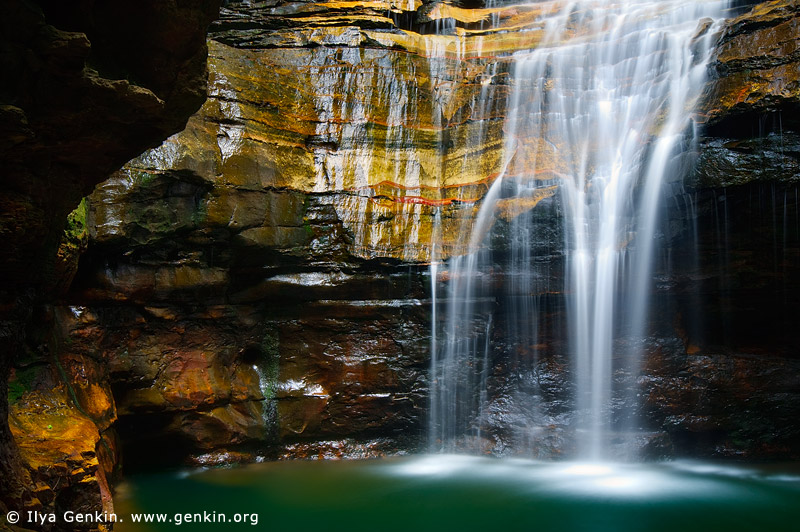 landscapes stock photography | Empress Falls, Valley of the Waters Creek, Blue Mountains National Park, New South Wales (NSW), Australia, Image ID AU-EMPRESS-FALLS-0002