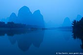 landscapes stock photography | 20 Yuan Note View at Dawn, Xingping, Yangshuo, China, Image ID CHINA-YANGSHUO-XINGPING-0001.