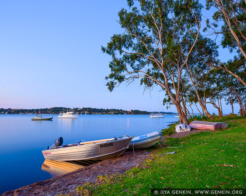 landscapes stock photography | Sunset at Wangi Wangi, Lake Macquarie, NSW, Australia, Image ID AU-LAKE-MACQUARIE-0002