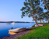 landscapes stock photography | Sunset at Wangi Wangi, Lake Macquarie, NSW, Australia, Image ID AU-LAKE-MACQUARIE-0002. Beautiful and peaceful image of the very calm waters of the Lake Macquarie with yachts and boats near Wangi Wang in NSW, Australia.
