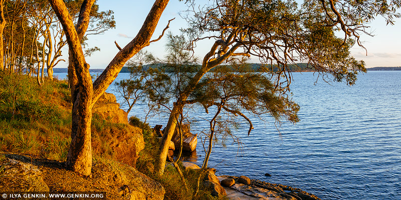 landscapes stock photography | Sunset at Lake Macquarie, Wangi Wangi, Lake Macquarie, NSW, Australia, Image ID AU-LAKE-MACQUARIE-0004