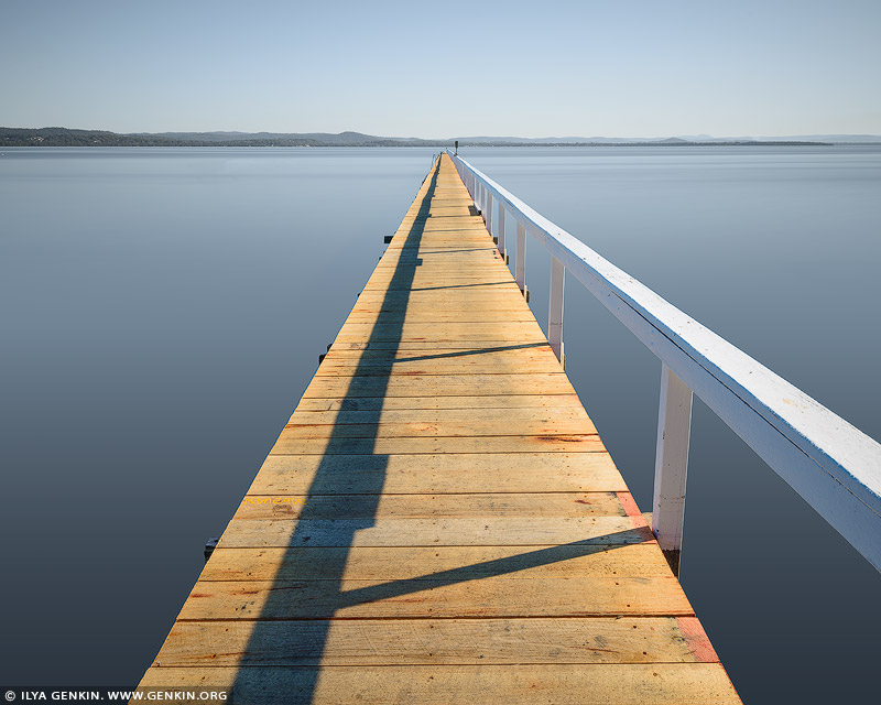 landscapes stock photography | Long Jetty, Tuggerah Lake, Central Coast, NSW, Australia