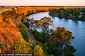 landscapes stock photography | Big Bend at Sunset, Murray River, South Australia, Australia, Image ID AU-MURRAY-RIVER-0009. Beautiful image of sunset on the Murray River at Big Bend near Swan Reach - Nildotte. The Murray River is one of the most beautiful holiday destinations in South Australia. Witness the endless limestone cliffs, the Mallee Country and the abundant wildlife along the Murray River. Watch the spectacular colour changes of Big Bend - it is a photographers, painters or anyone's delight.
