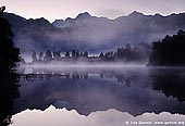 Lake Matheson, New Zealand Stock Photography and Travel Images