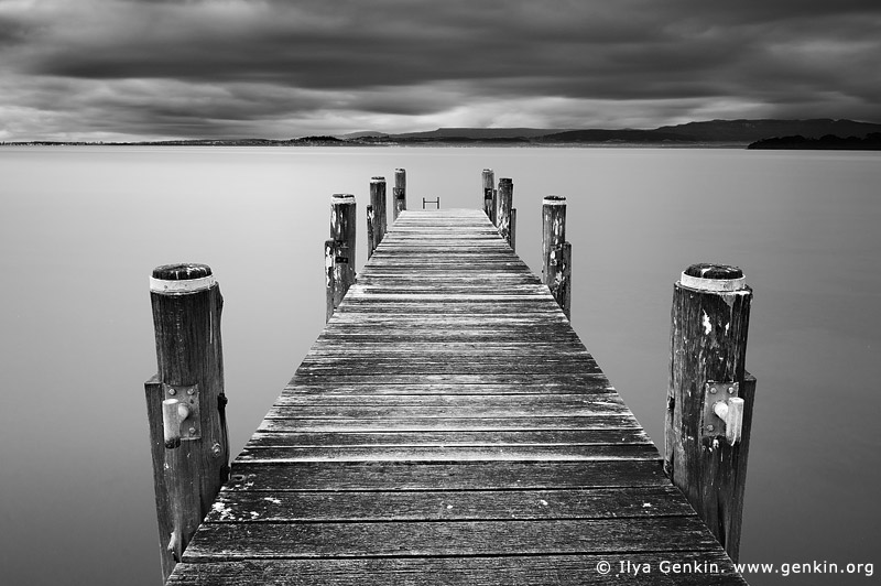 landscapes stock photography | Lake Illawarra Jetty, Lake Illawarra, New South Wales (NSW), Australia, Image ID AU-LAKE-ILLAWARRA-0001