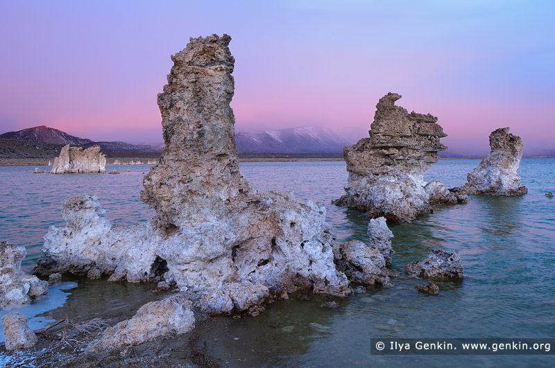 landscapes stock photography | Sunset at Lake Mono, Mono Lake Tufa State Reserve, Eastern Sierra, Mono County, California, USA