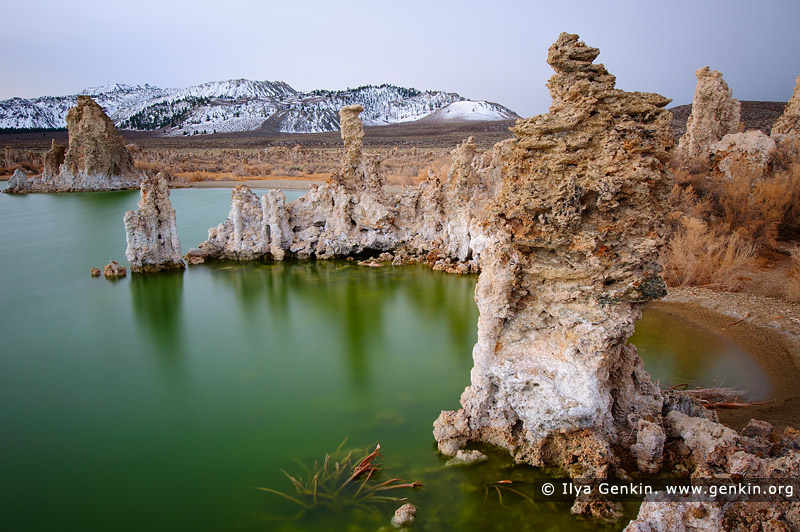 landscapes stock photography | Lake Mono and Tufa Formations, Mono Lake Tufa State Reserve, Eastern Sierra, Mono County, California, USA, Image ID USA-LAKE-MONO-0003
