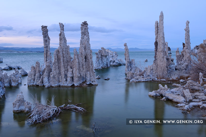 landscapes stock photography | Evening at Lake Mono, Mono Lake Tufa State Reserve, Eastern Sierra, Mono County, California, USA