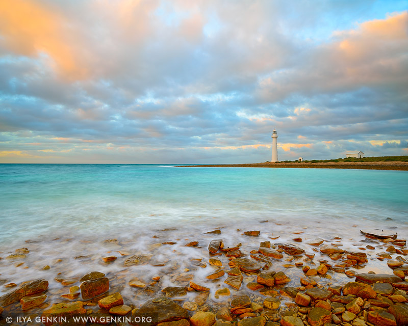 lighthouses stock photography | Point Lowly Lighthouse, Eyre Peninsula, South Australia (SA), Australia, Image ID AU-POINT-LOWLY-LIGHTHOUSE-0001