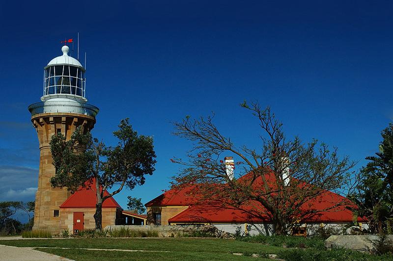 lighthouses stock photography   Barrenjoey Lighthouse, Lighthouse at Barrenjoey Head, Palm Beach, Sydney, NSW, Image ID AULH0002