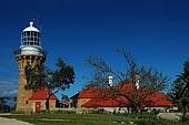stock photography | Barrenjoey Lighthouse, Lighthouse at Barrenjoey Head, Palm Beach, Sydney, NSW, Image ID AULH0002.