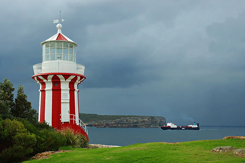lighthouses stock photography | Hornby Lighthouse, Lighthouse at South Head, Watson Bay, Sydney, NSW, Image ID AULH0003