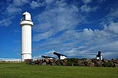 stock photography | The Wollongong Head Lighthouse, The Lighthouse at Flagstaff Point, (Wollongong Head), Wollongong, NSW, Image ID AULH0004.
