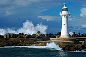 stock photography | The Wollongong Breakwater Lighthouse , The Lighthouse at Wollongong Harbour, Wollongong, NSW, Image ID AULH0005.