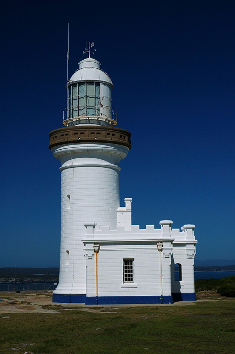 lighthouses stock photography | The Point Perpendicular Lighthouse , Point Perpendicular, Jervis Bay, NSW, Image ID AULH0007