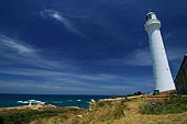 stock photography | The Point Hicks Lighthouse, Cape Everard,, Croajingolong National Park, VIC, Image ID AULH0011.