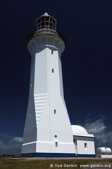 lighthouses stock photography | The Green Cape Lighthouse, Ben Boyd National Park, NSW, Image ID AULH0015