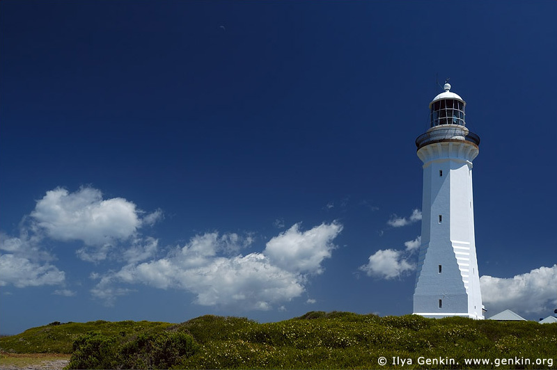 lighthouses stock photography | The Green Cape Lighthouse, Ben Boyd National Park, NSW, Image ID AULH0016