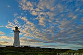 stock photography | The Green Cape Lighthouse at Sunset, Ben Boyd National Park, NSW, Australia, Image ID AULH0035.