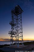 stock photography | Beacon near The Green Cape Lighthouse at Sunset, Ben Boyd National Park, NSW, Australia, Image ID AULH0037.