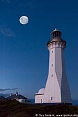 stock photography | The Green Cape Lighthouse at Sunset, Ben Boyd National Park, NSW, Australia, Image ID AULH0038.