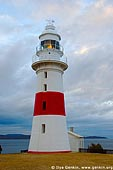 stock photography | The Low Head Lighthouse at Dawn, George Town, Tamar River, Tasmania, Australia, Image ID AULH0042.