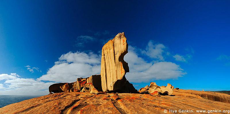 panoramas stock photography | Remarkable Rocks, Kangaroo Island, SA, Australia, Image ID AUPA0010