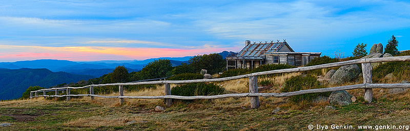 panoramas stock photography | Craig's Hut, Alpine National Park, Victoria, Australia, Image ID AUPA0017