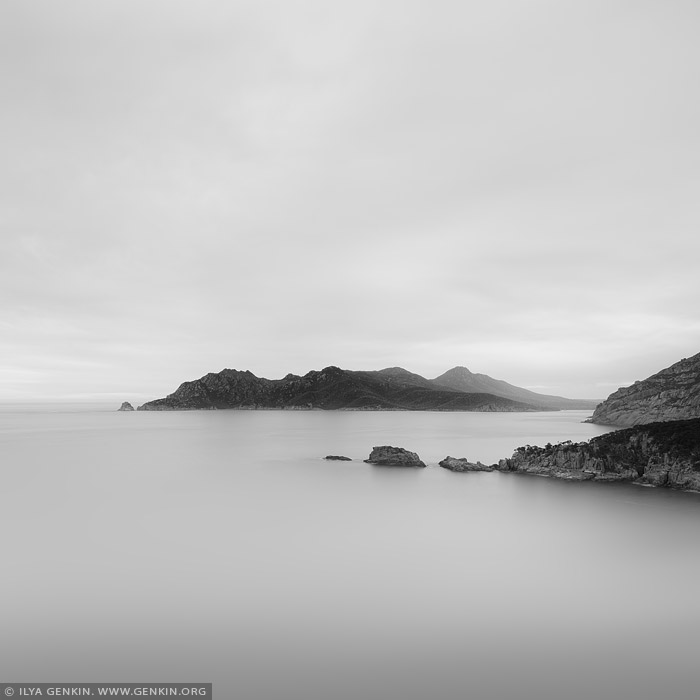 portfolio stock photography | Looking South from Cape Tourville, Freycinet National Park, Tasmania (TAS), Australia
