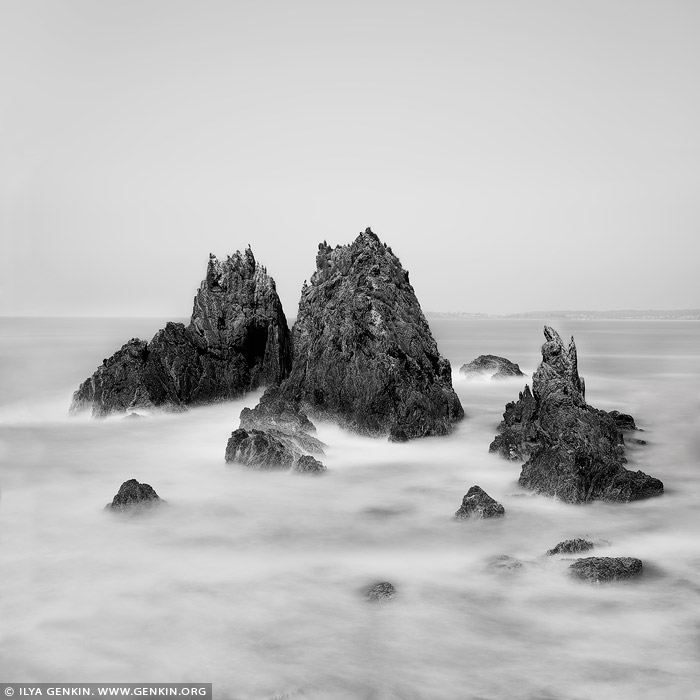 portfolio stock photography | Camel Rock, Bermagui, South Coast, NSW, Australia, Image ID AUSTRALIAN-COAST-BW-0008